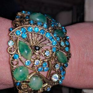 Jewelry - Jeweled Hinged Bracelet